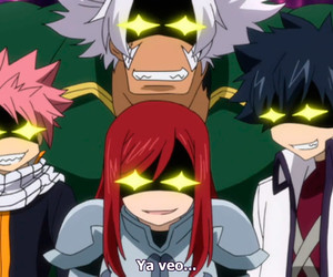 fairy tail, gray, and erza image