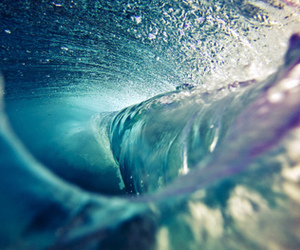 water, waves, and ocean image