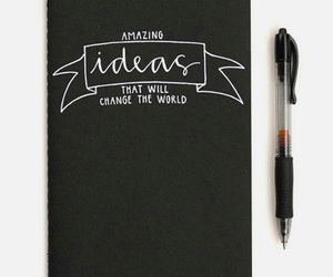 ideas, amazing, and notebook image