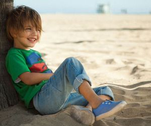beach, boy, and clothes image