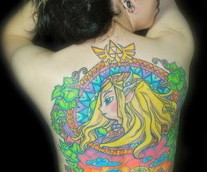back, inked, and the legend of zelda image