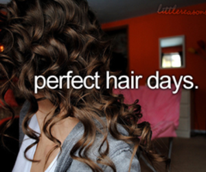 hair, perfect, and text image