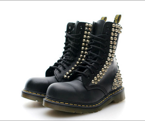 boots, punk, and doc martens image
