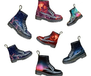 boots, stars, and doc martens image