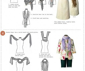 scarf and tutorial image