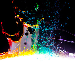 colors, water, and colours image