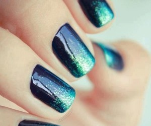 blue and nail image