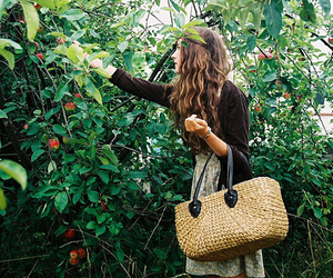 FRUiTS, girl, and peaches image