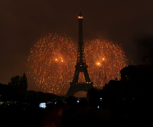 paris, photography, and fireworks image
