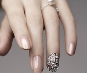 nails, design, and nail case image