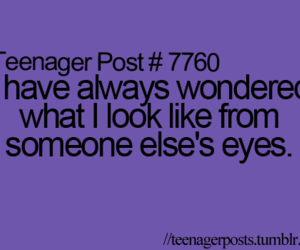 quote, teenager post, and eyes image