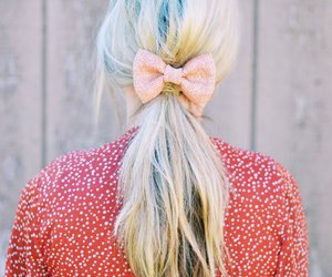 bow, hair, and cute image