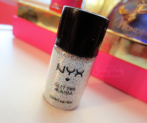glitter, girl, and nails image