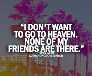 heaven and friends image