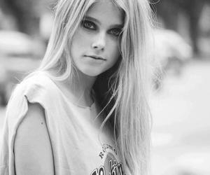 girl, valentina zenere, and black and white image