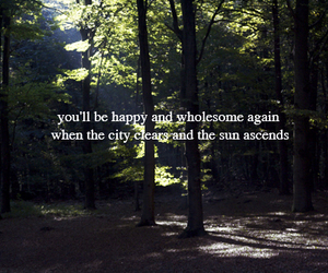 sun, text, and mumford and sons image