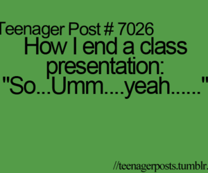 teenager post, funny, and presentation image