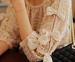 fashion, bow, and pretty image