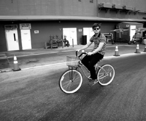 awesome, band, and bicycle image