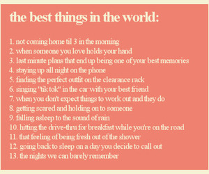 typography and best things image