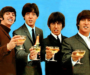 the beatles, beatles, and happy new year image
