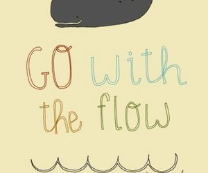 flow and go with the flow image