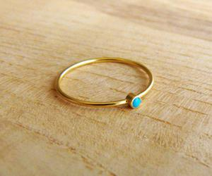 gold, girl, and ring image