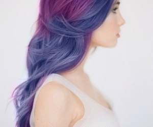 color, hair, and rock image