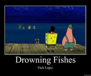 fishes, laugh out loud, and patrick image