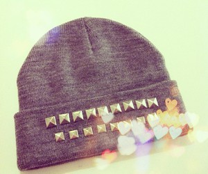 fashion, hat, and studs image