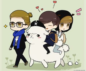ace, fanart, and luhan image