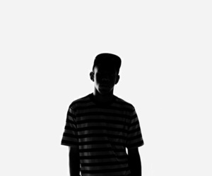 tyler, the creator, and black and white image