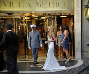 dress, luxury, and blonde image
