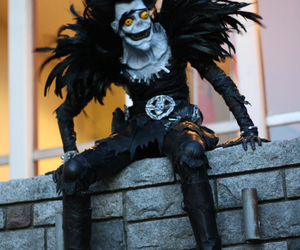 cosplay, death note, and ryuk image