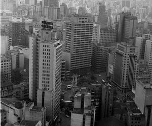 70s, city, and black and white image
