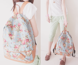 kfashion, cute, and backpack image