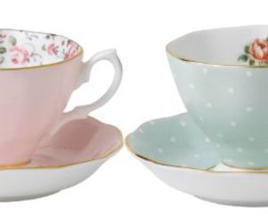 pastel, teacup, and vintage image