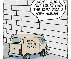 Pink Floyd, funny, and music image