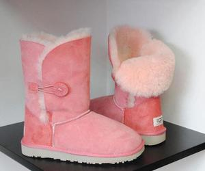 pink, ugg, and cute image