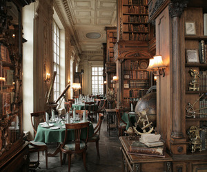 books, cafe, and interior image