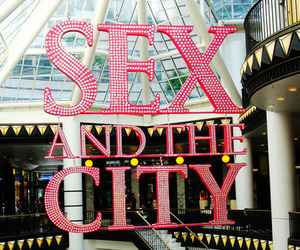 sex and the city, pink, and city image