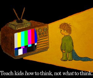 children, colors, and think image