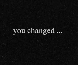 changed, text, and you image