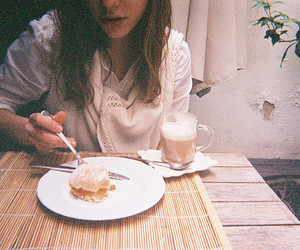 girl and food image