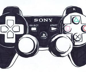 game, sony, and playstation image