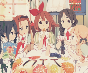 k-on, anime, and mio image