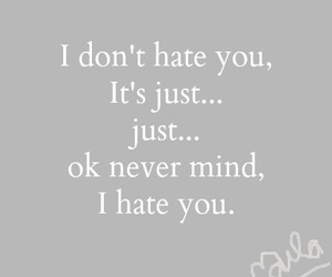 hate, boy, and funny image