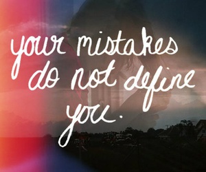 mistakes, quote, and define image