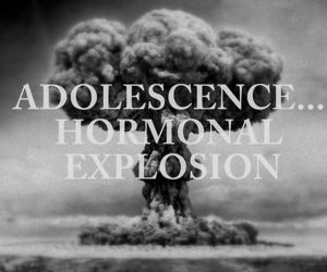 adolescence, nuclear, and black image