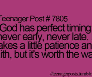 quote, teenager post, and god image